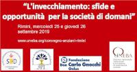"""""""L'INVECCHIAMENTO: SFIDE E OPPORTUNITÀ PER LA SOCIETÀ DI DOMANI"""""""